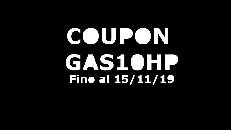 BUONO SCONTO GAS10HP FINO AL 15/11