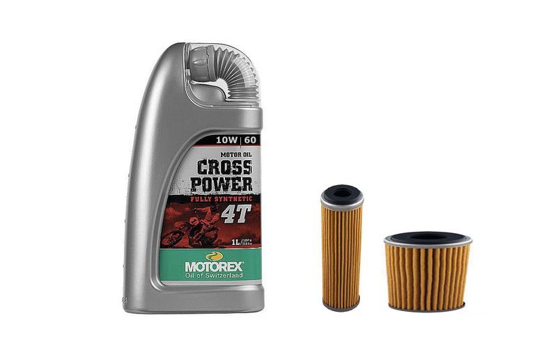 Olio e filtri olio Cross