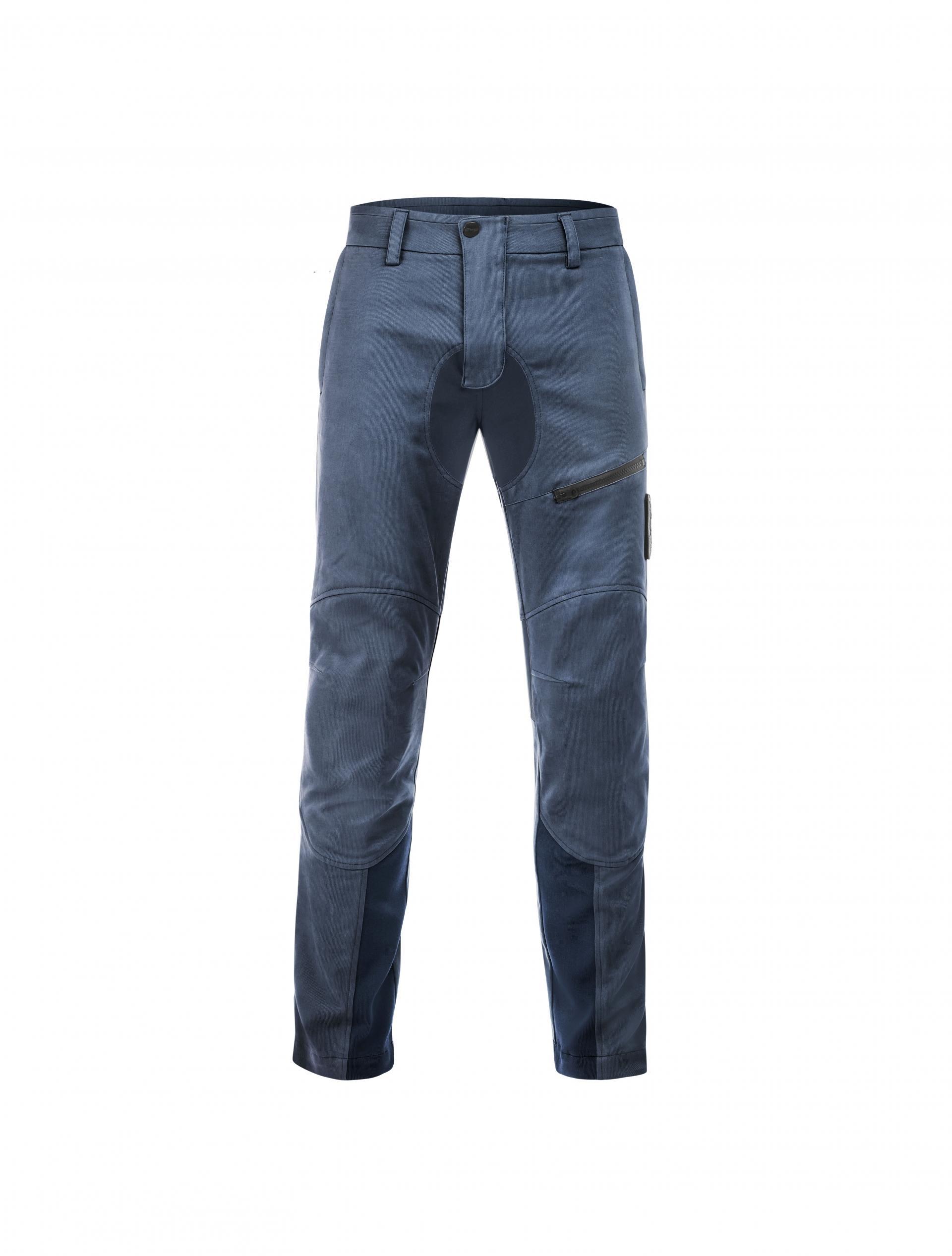 Pantaloni moto Ottano 2.0 Blu 1