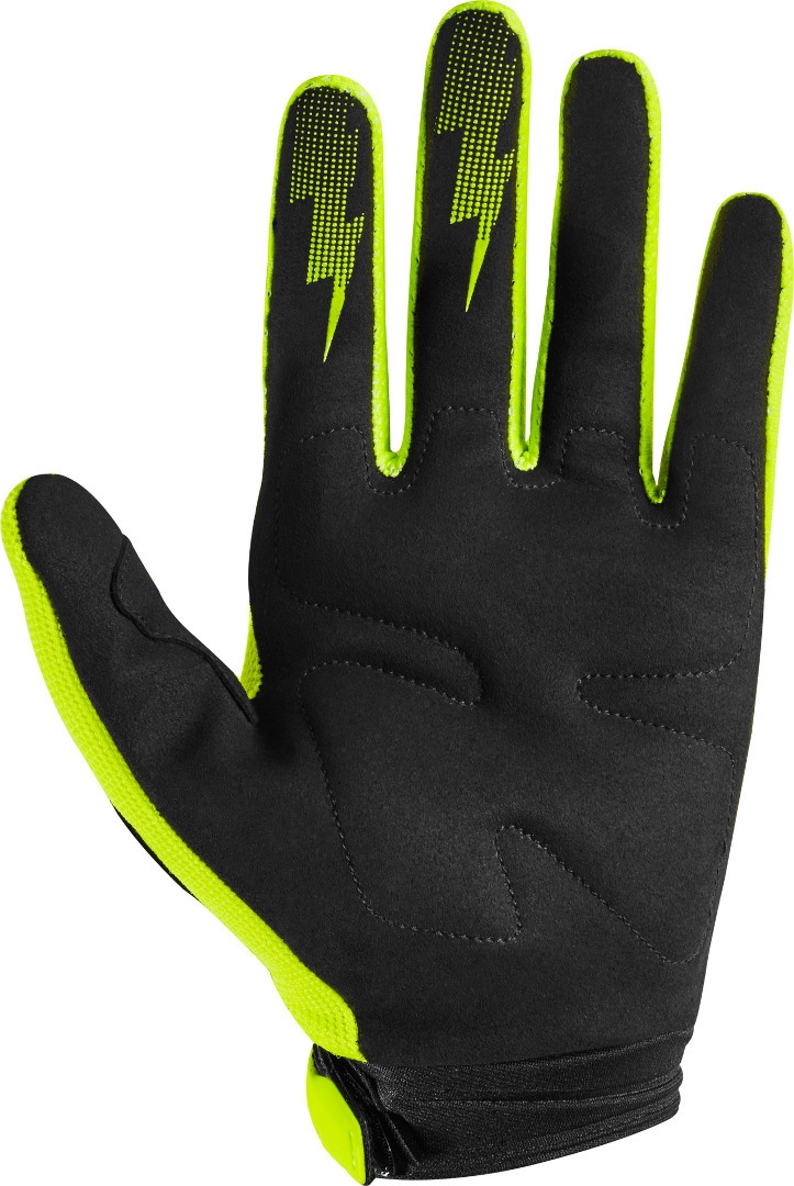 Guanti cross enduro Fox DIRTPAW RACE 2020 Yellow Fluo 2