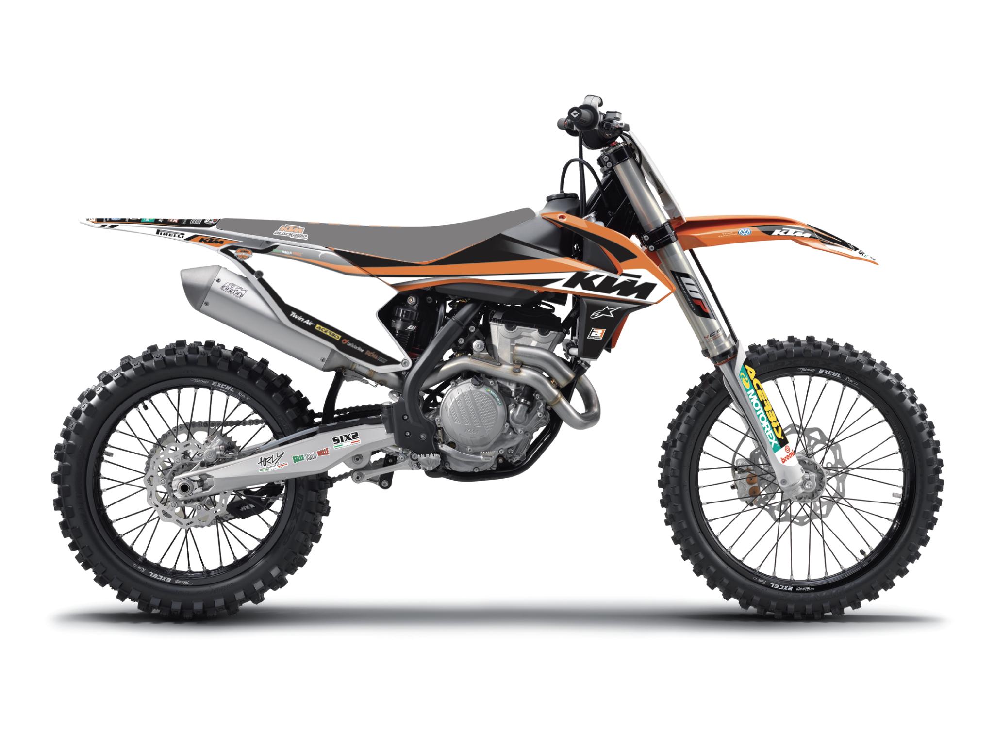 Kit grafiche Replica KTM TROFEO 2019 per EXC EXCF SX SXF 1