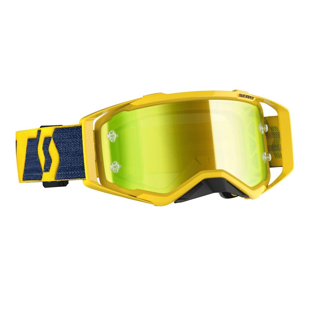Occhiali (maschera) cross 2020 Scott PROSPECT yellow yellow lente yellow chrome 1