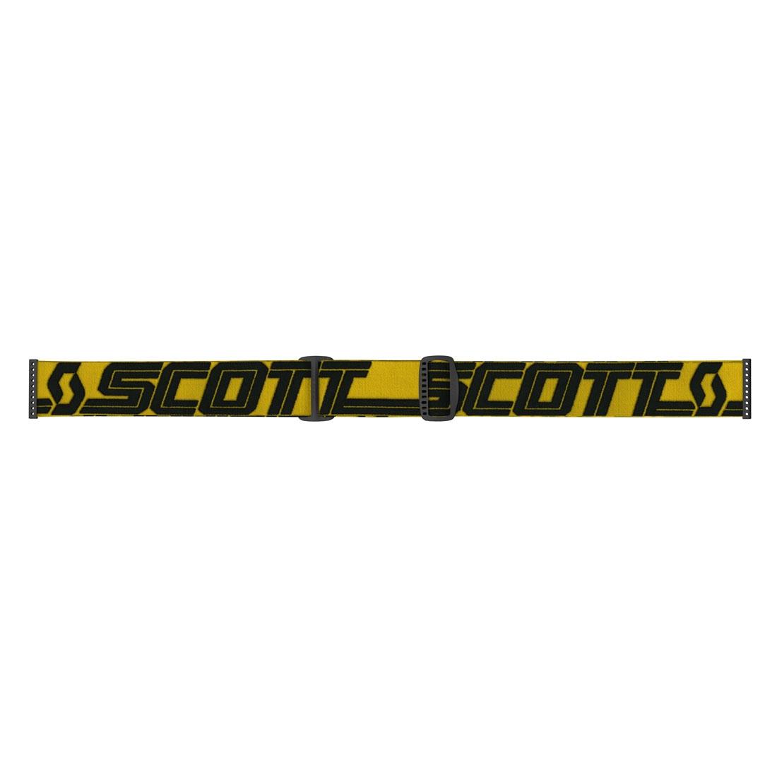 Occhiali (maschera) cross 2020 Scott FURY yellow black lente yellow chrome 2