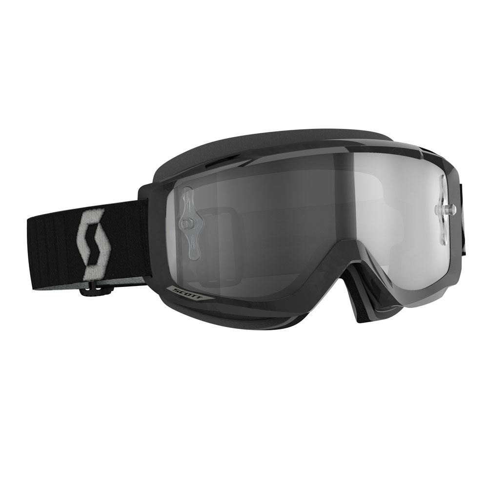 Occhiali (maschera) cross Scott Split OTG LS Fotocromatica black grey 1