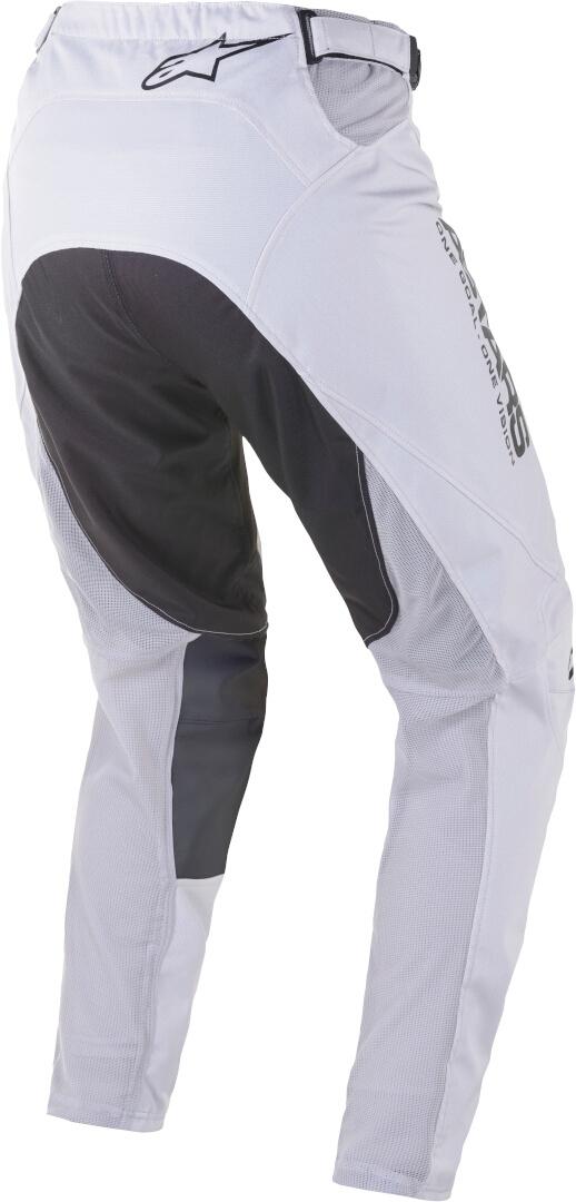 Completo cross Alpinestars RACER SUPERMATIC light gray black 2021 pantaloni+maglia 2