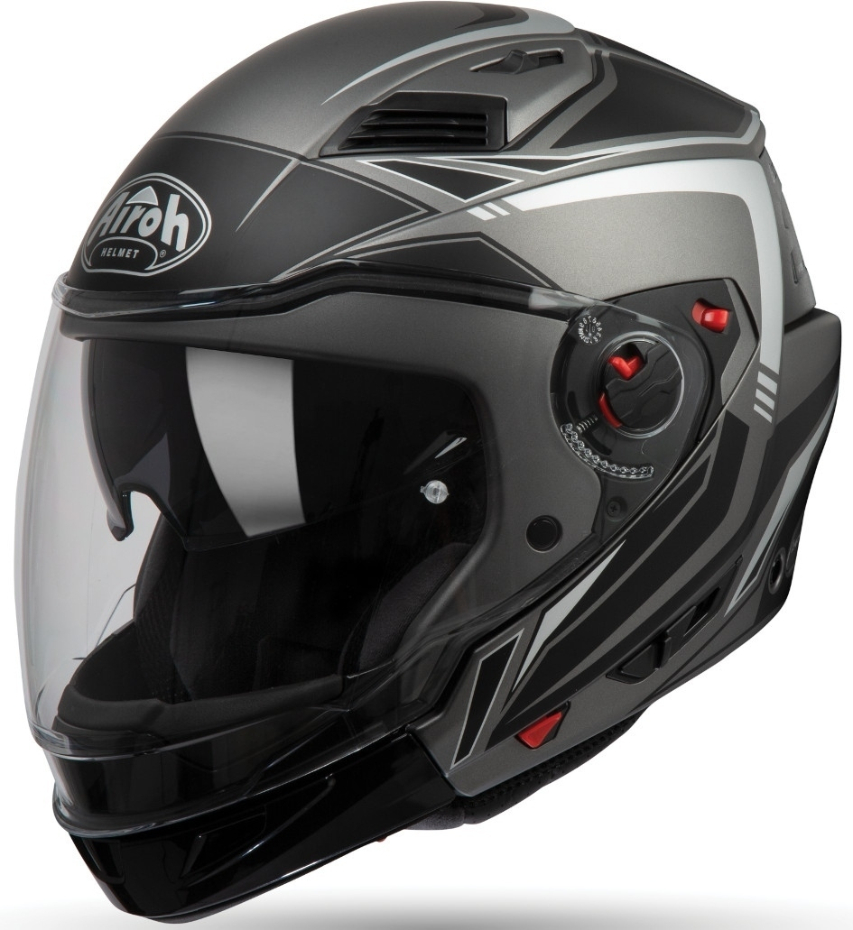 Casco modulare crossover Airoh EXECUTIVE LINE Anthracite Matt 1