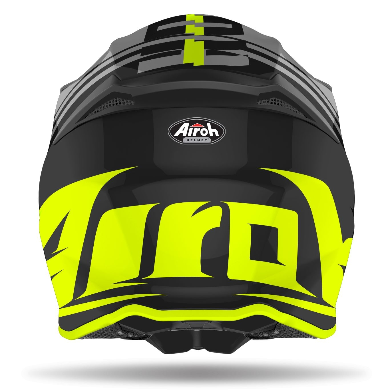 Casco Airoh cross enduro TWIST 2.0 TECH YELLOW matt 2