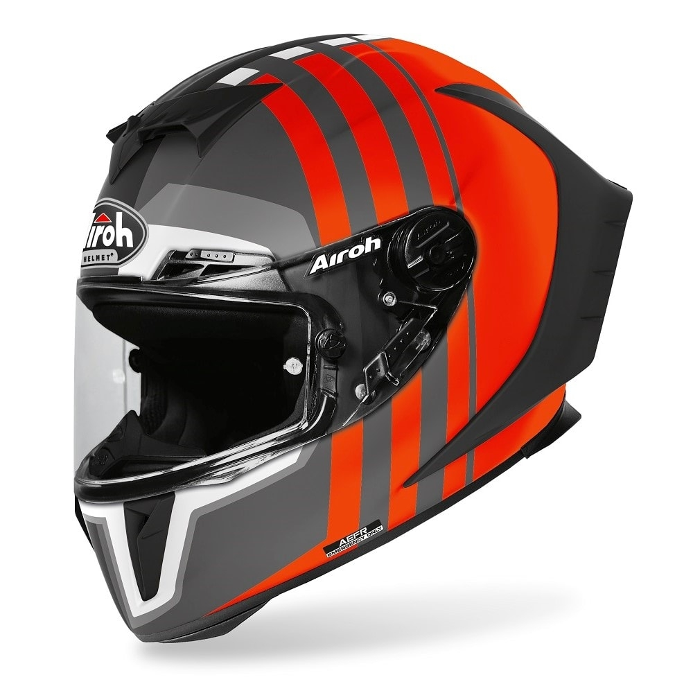 Casco integrale Airoh GP 550 S SKYLINE Orange Matt 1