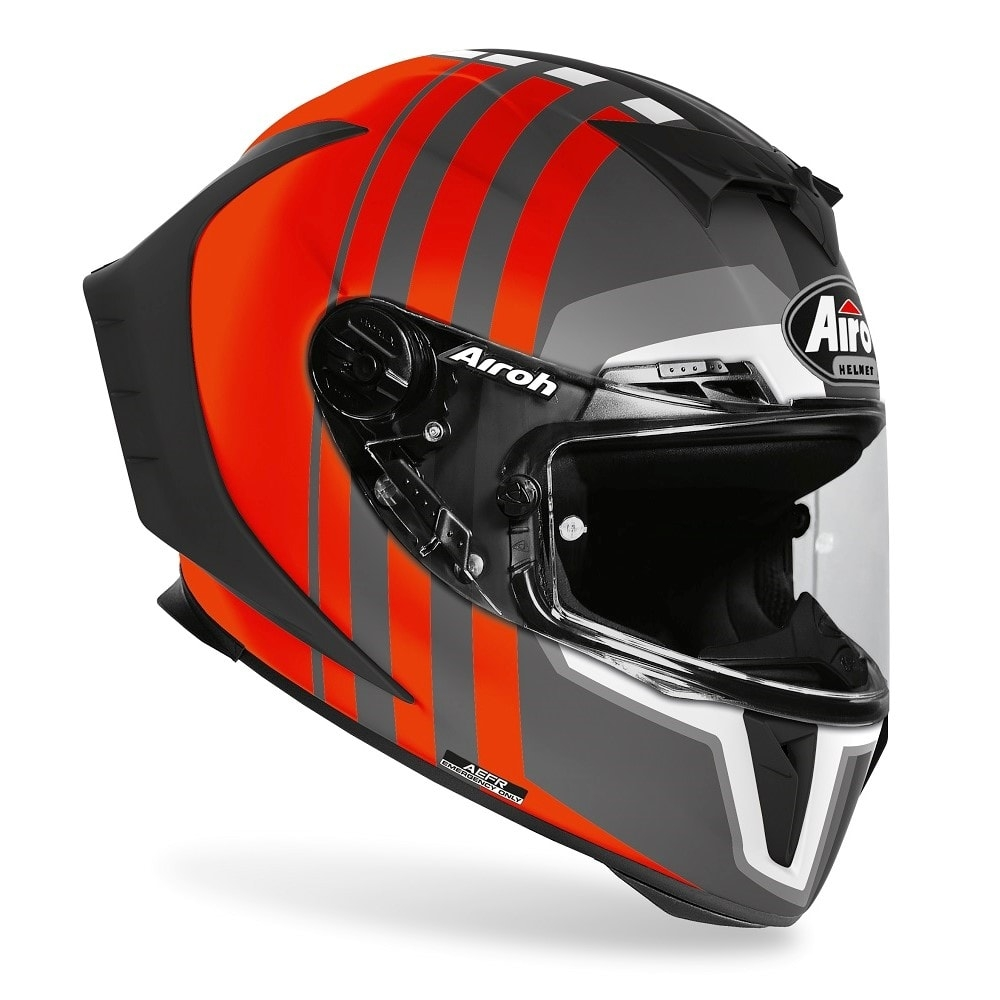 Casco integrale Airoh GP 550 S SKYLINE Orange Matt 3