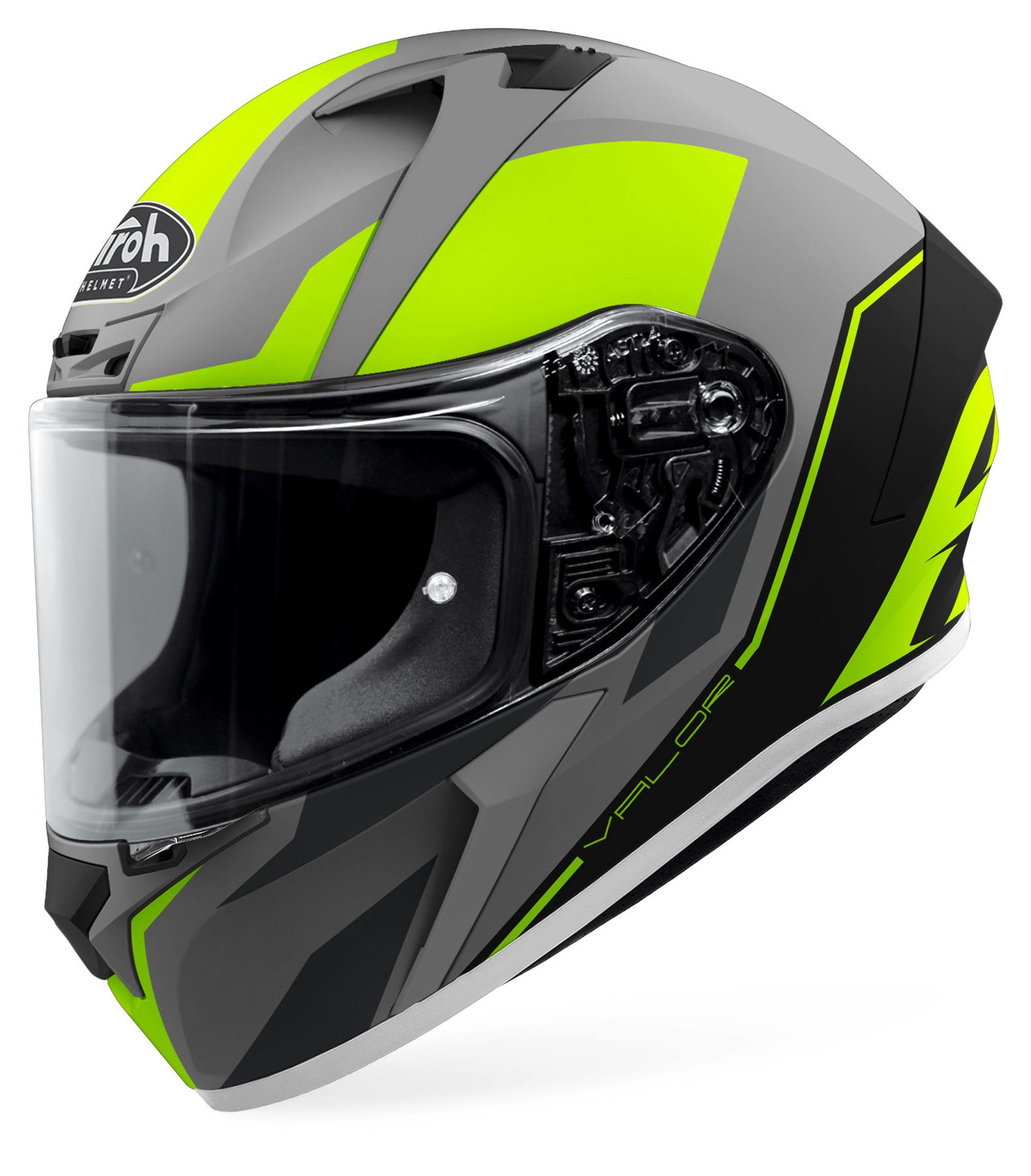 Casco integrale Airoh VALOR WINGS Yellow Matt 1