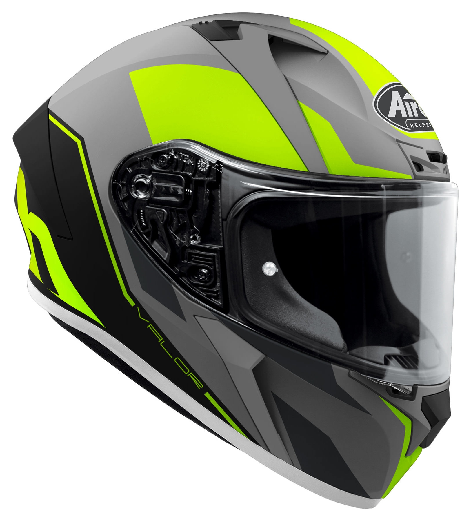 Casco integrale Airoh VALOR WINGS Yellow Matt 2