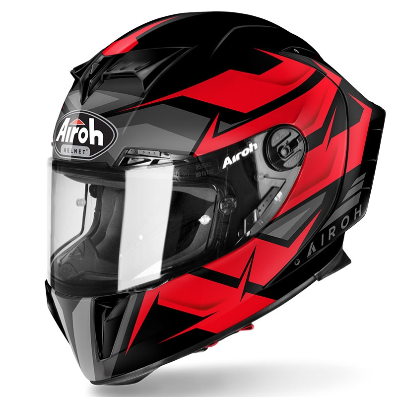 Casco integrale Airoh GP 550 S WANDER Red Matt 1