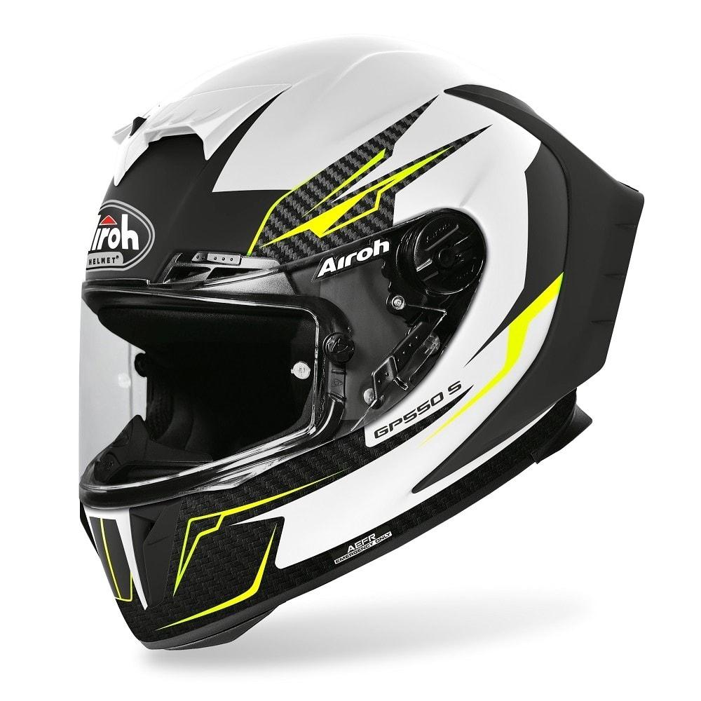 Casco integrale Airoh GP 550 S VENOM White Matt 1