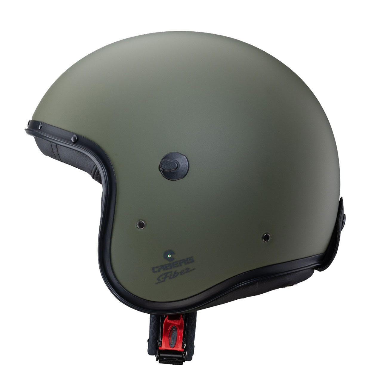 Casco jet Caberg FREERIDE MAORI matt military green 2