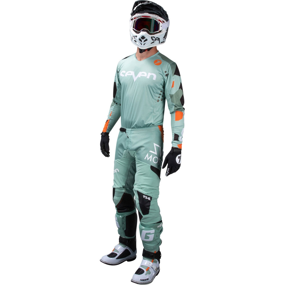 Completo cross Seven Rival Trooper 2 PASTE CAMO 2020 pantaloni+maglia 1