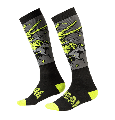 Calze O'Neal Pro MX Sock ZOMBIE Black Green (One Size) 1