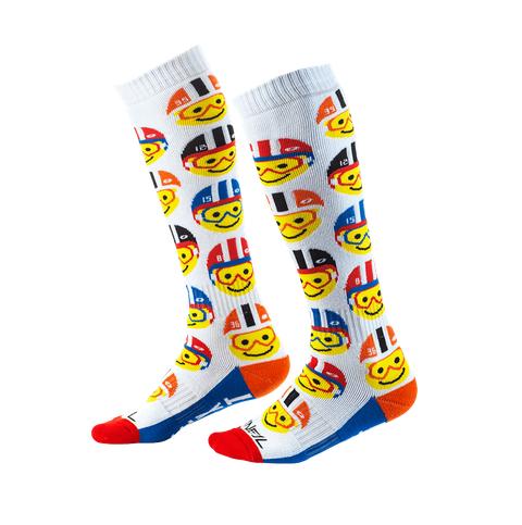 Calze cross bambino O'Neal Pro MX Sock Youth EMOJI RACER multi (One Size) 1