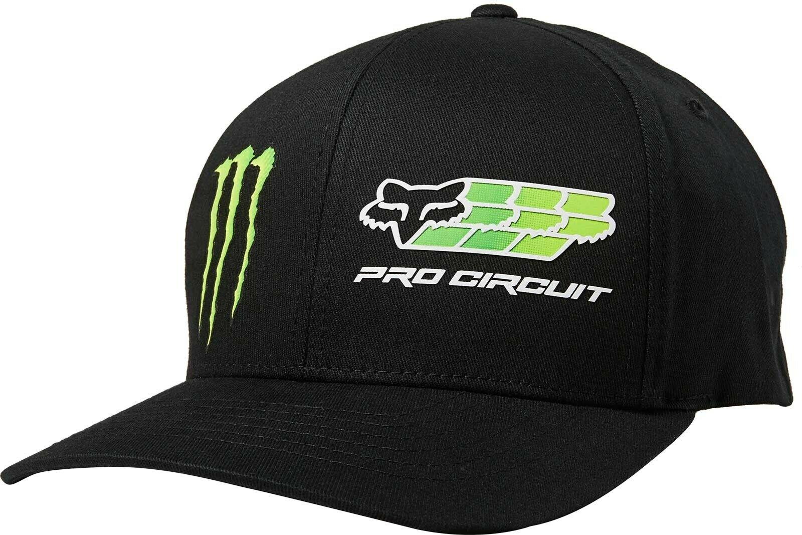 Cappellino Fox Monster Pro Circuit Flexfit Nero 1