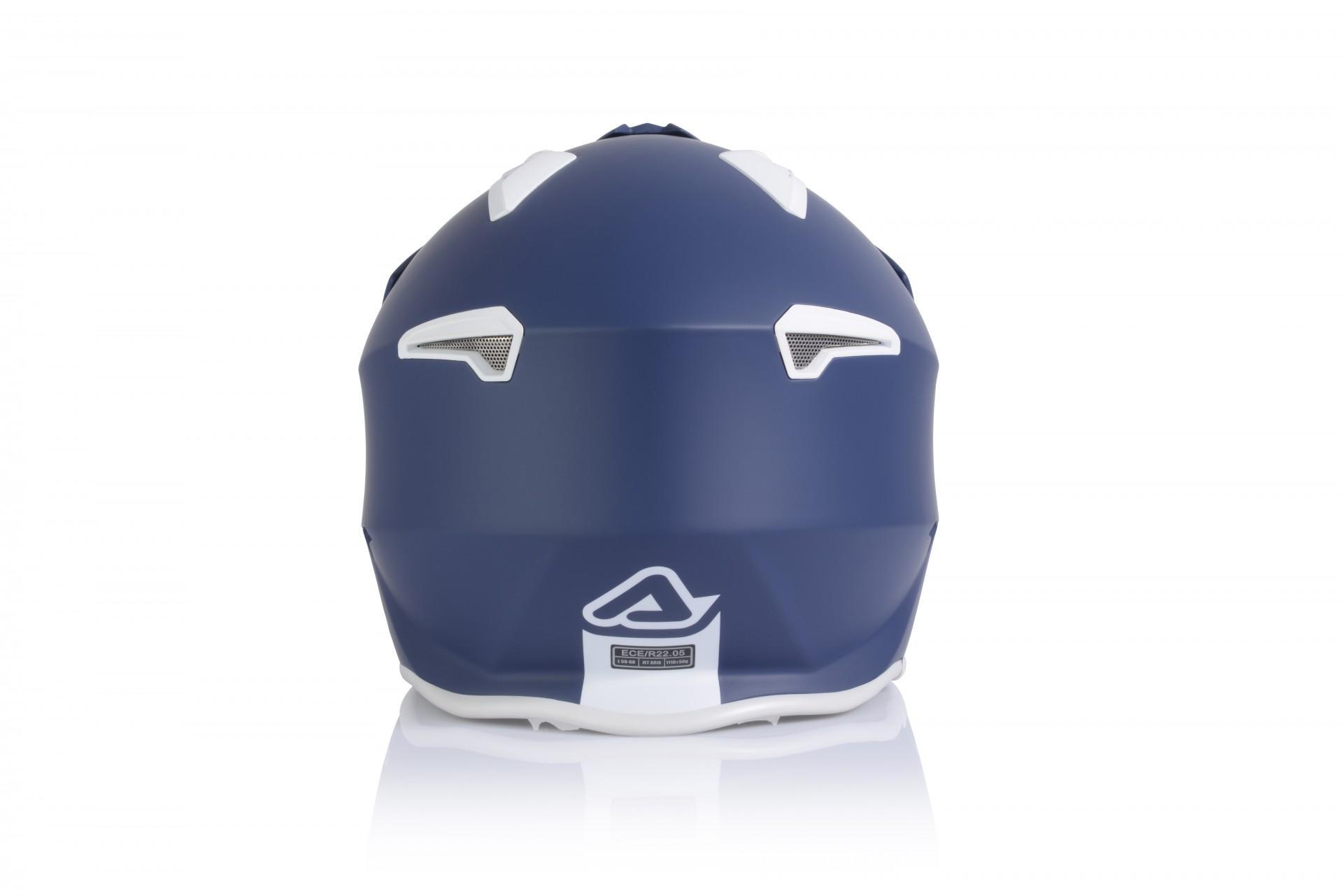 Casco Jet Acerbis JET ARIA blue 2