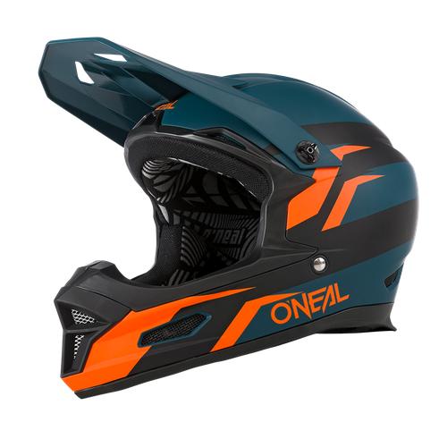 Casco MTB O'Neal FURY STAGE petrol/orange 1
