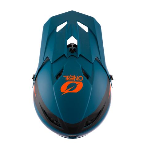 Casco MTB O'Neal FURY STAGE petrol/orange 3