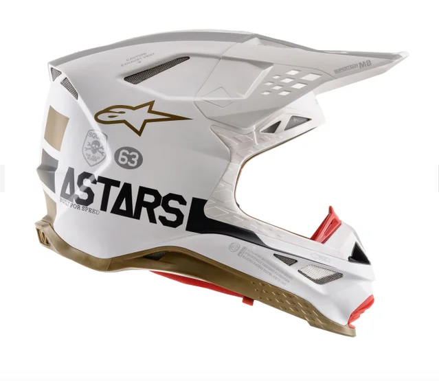 Casco cross Alpinestars Supertech S-M8 Squad 20 LE 2
