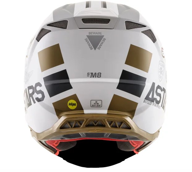 Casco cross Alpinestars Supertech S-M8 Squad 20 LE 3