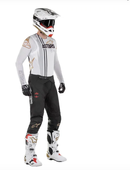 Casco cross Alpinestars Supertech S-M8 Squad 20 LE 5