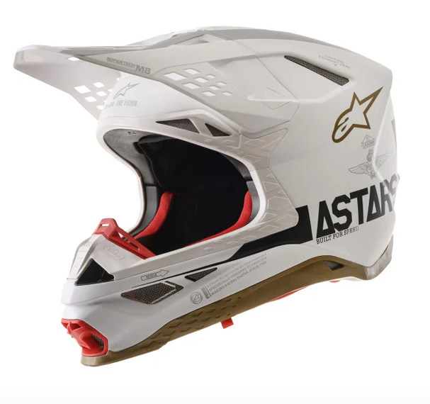 Casco cross Alpinestars Supertech S-M8 Squad 20 LE 1