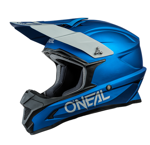 Casco cross enduro O'Neal serie 1 SOLID blue 1