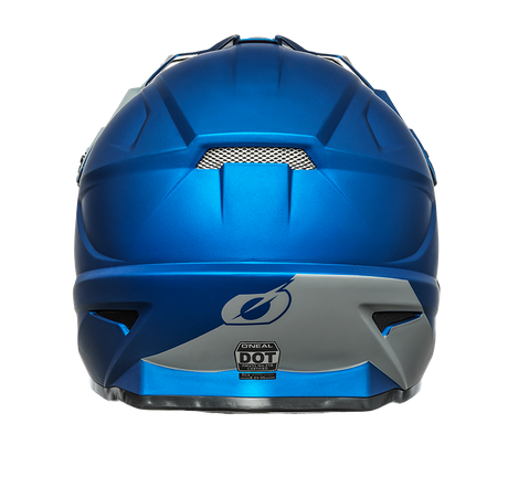 Casco cross enduro O'Neal serie 1 SOLID blue 2