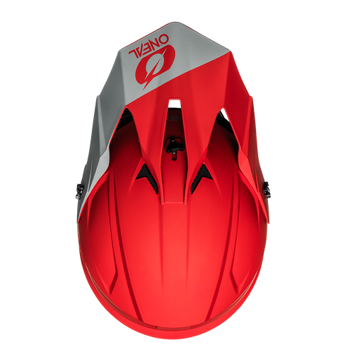 Casco cross enduro O'Neal serie 1 SOLID red 3