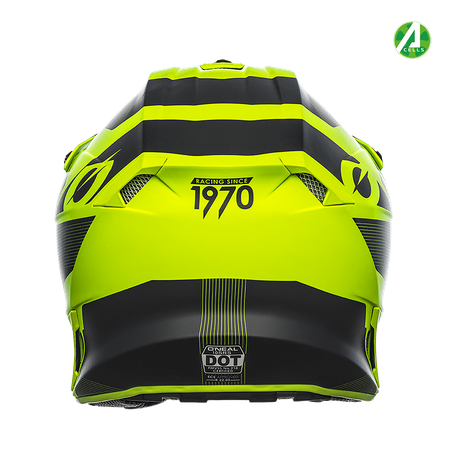 Casco cross enduro O'Neal serie 10 Hyperlite COMPACT black/neon yellow 2