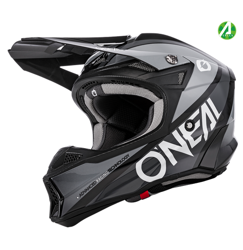 Casco cross enduro O'Neal serie 10 Hyperlite CORE black/gray 1