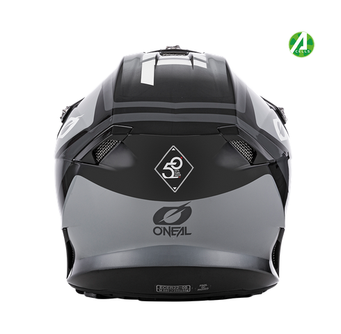 Casco cross enduro O'Neal serie 10 Hyperlite CORE black/gray 3