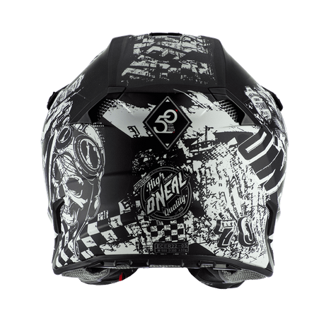Casco cross enduro O'Neal serie 5 Polyacrylite RIDER black/white 4