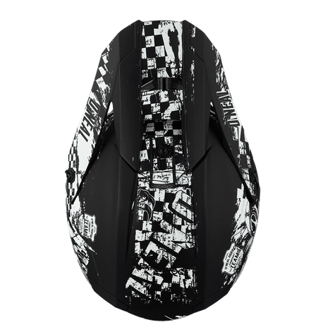 Casco cross enduro O'Neal serie 5 Polyacrylite RIDER black/white 3