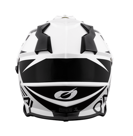 Casco dual road O'Neal Sierra R black/white 2
