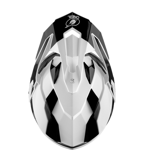 Casco dual road O'Neal Sierra R black/white 3