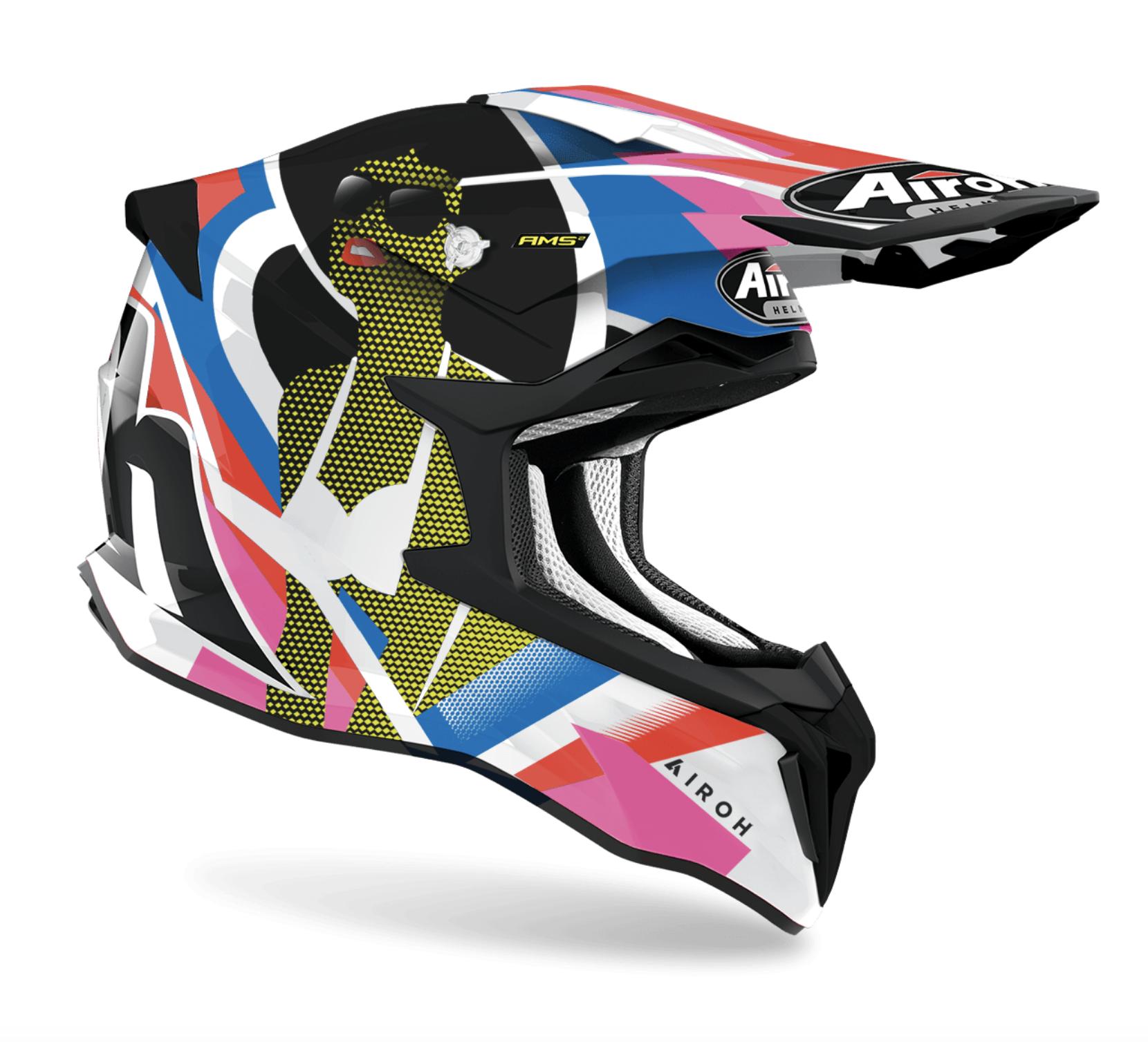 Casco Airoh cross enduro STRYCKER VIEW Gloss 1