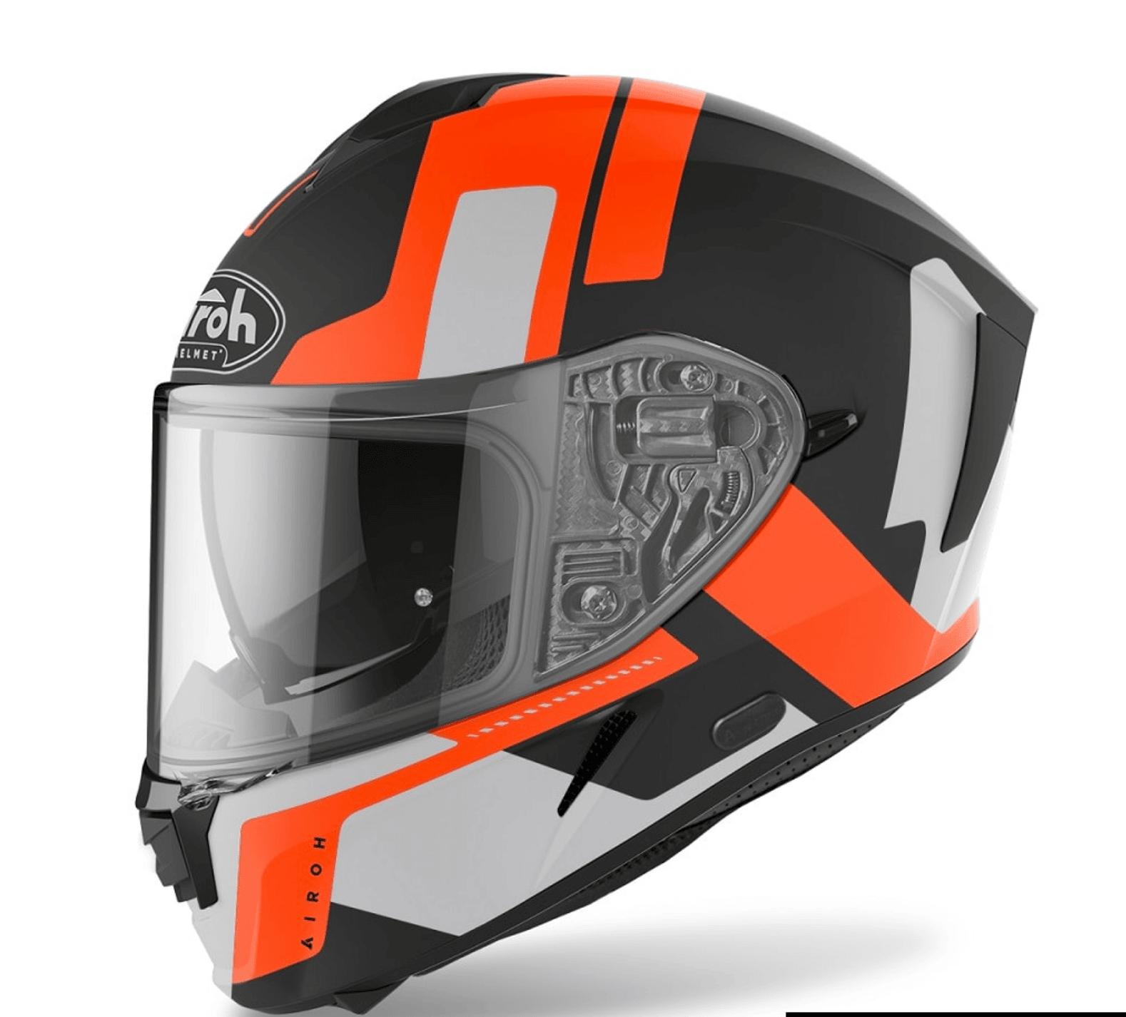 Casco integrale Airoh SPARK SHOGUN Orange Matt 2