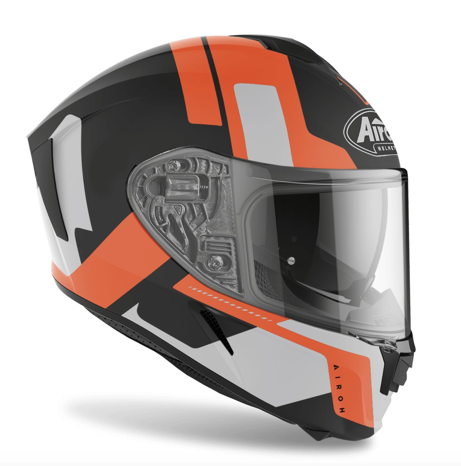 Casco integrale Airoh SPARK SHOGUN Orange Matt 1