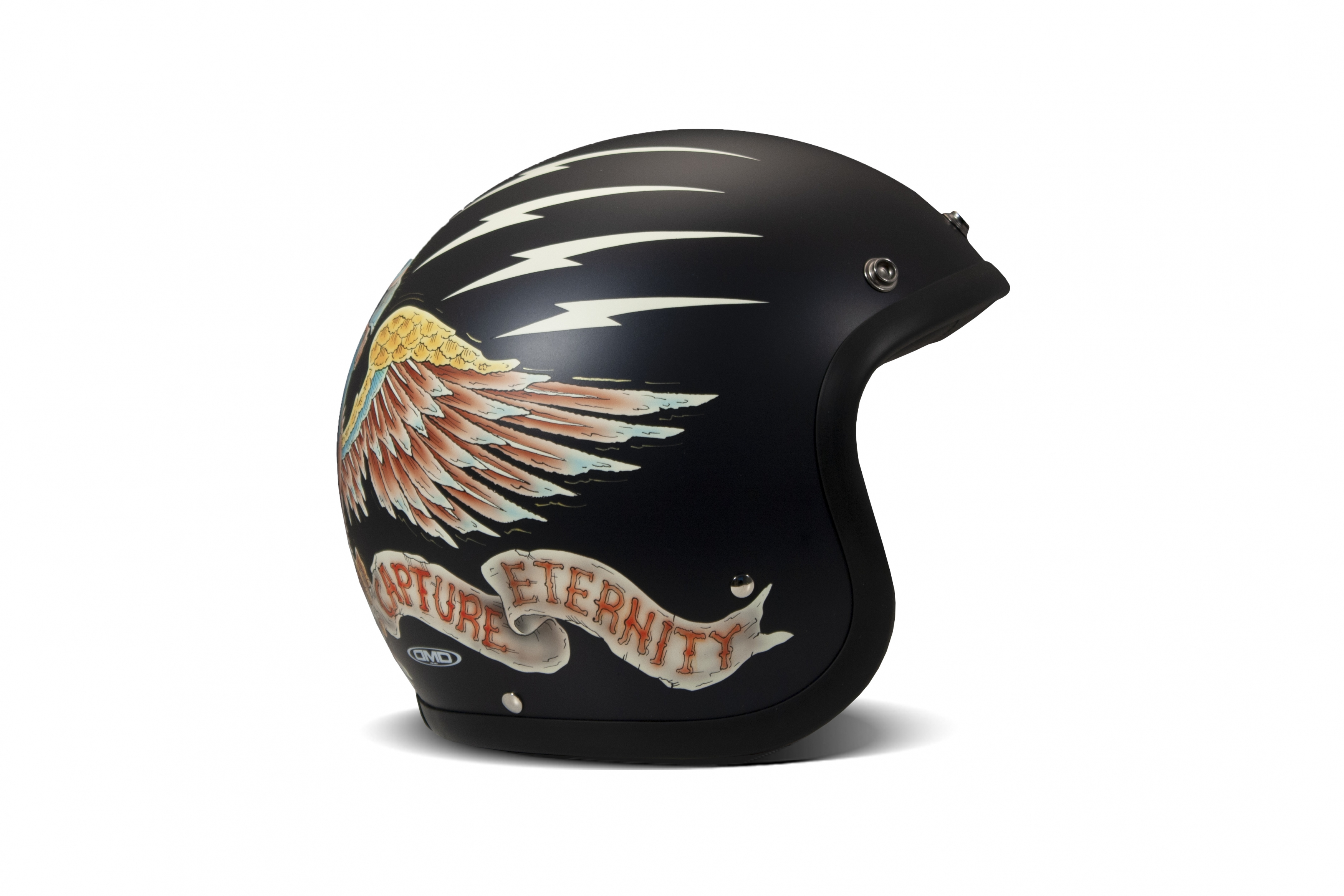 Casco jet DMD Vintage EAGLE 1