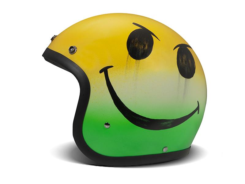 Casco jet Dmd VINTAGE Handmade SMILE JAM 1