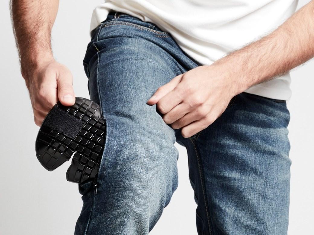 Jeans da moto Spidi con protezioni J TRACKER norm short long Blue Dark Used 3