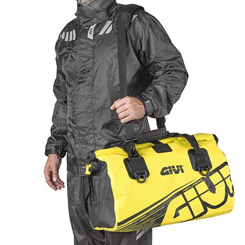 Borsa da sella a rullo waterproof Givi 40lt EA115FL giallo fluo 2