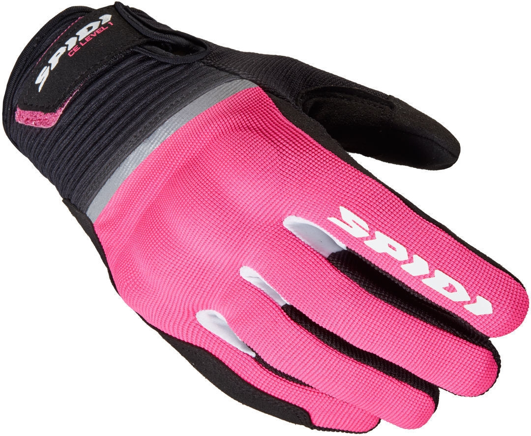 Guanti donna ventilati Spidi FLASH CE LADY Fuksia 1