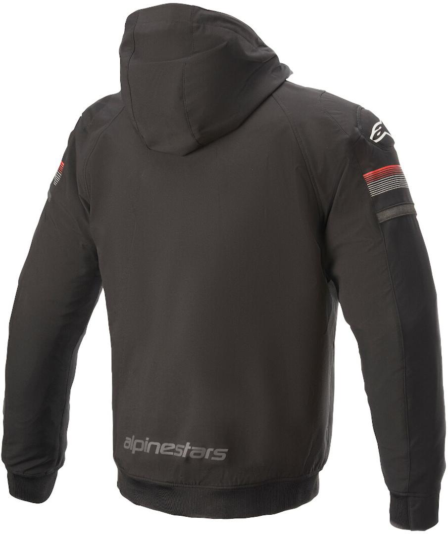 Giacca moto Alpinestars SEKTOR V2 TECH HOODIE nero rosso 2