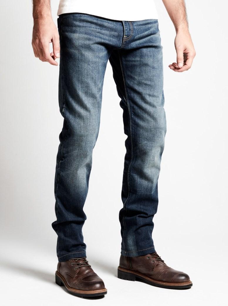 Jeans da moto Spidi con protezioni J TRACKER norm short long Blue Dark Used 1