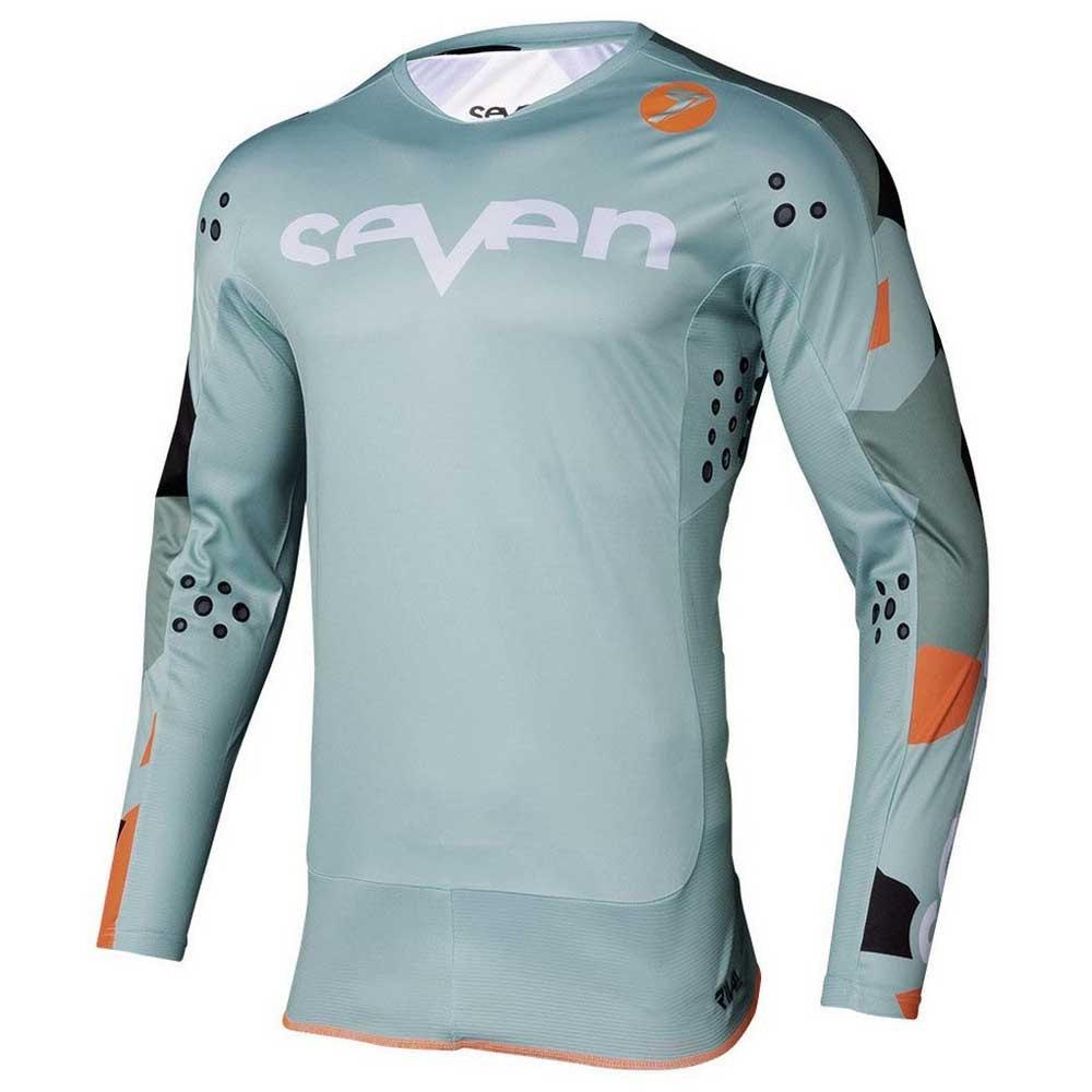 Completo cross Seven Rival Trooper 2 PASTE CAMO 2020 pantaloni+maglia 4